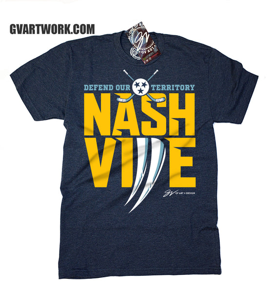 Nashville Hockey Defend Our Territory T shirt