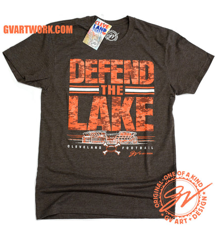 Defend The Lake Cleveland Football T shirt