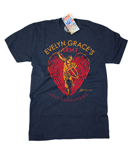 Evelyn Grace's Army T shirt