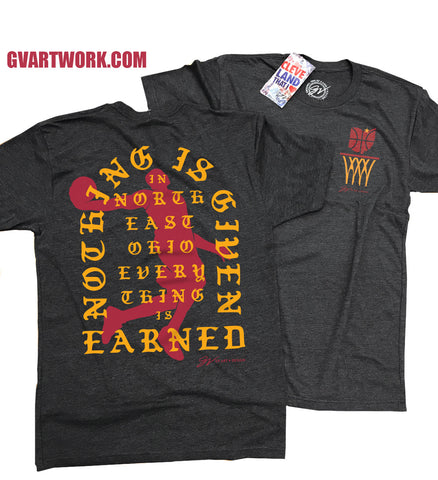 Everything Is Earned Ohio Net T shirt