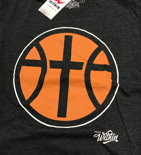 From Within - Faith, Family, Basketball Logo T shirt