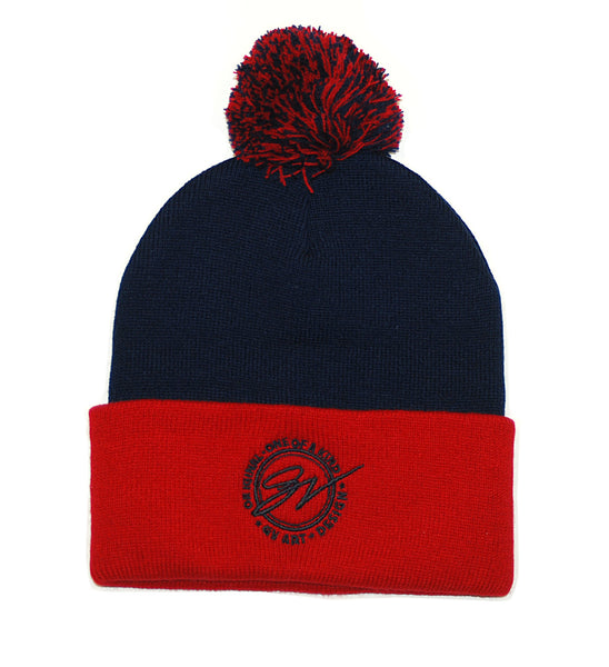 Cleveland That I Love Winter Hat - Navy/Red