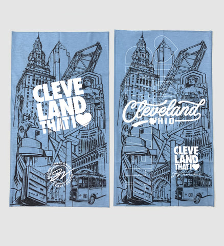 Cleveland Graphic Gaiter Mask