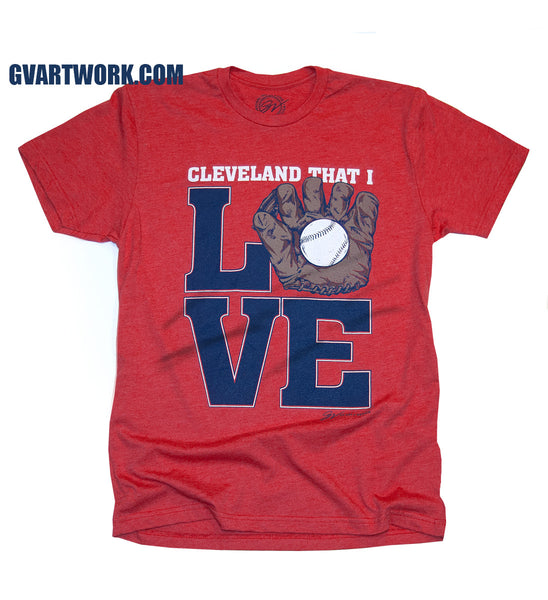 Cleveland That I Glove Baseball Edition