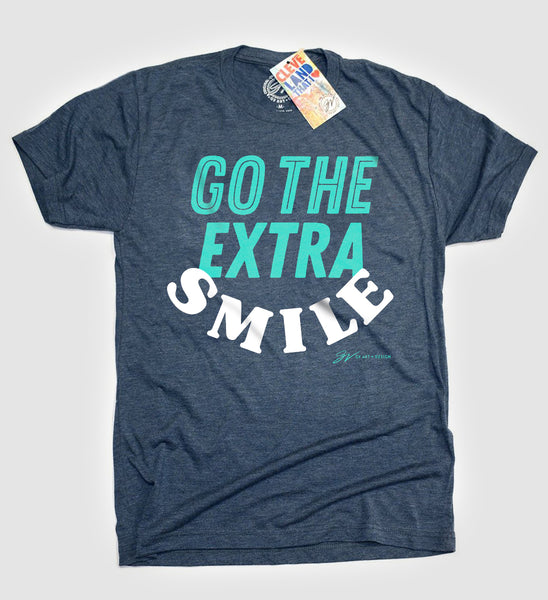 Go The Extra Smile T shirt