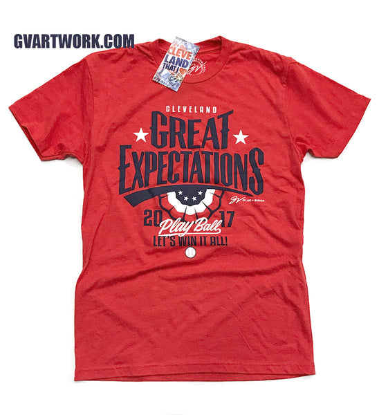 Great Expectations Cleveland Baseball T shirt