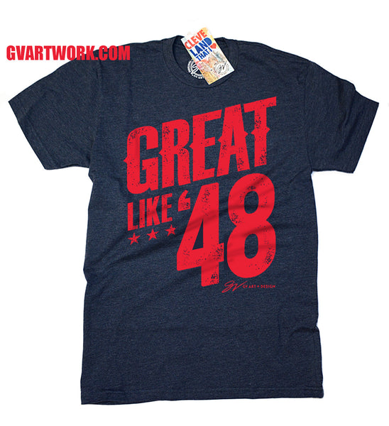 Great Like '48 Cleveland Baseball Tee