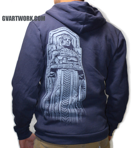 Cleveland Guardians Bridge Zip Up Hoodie