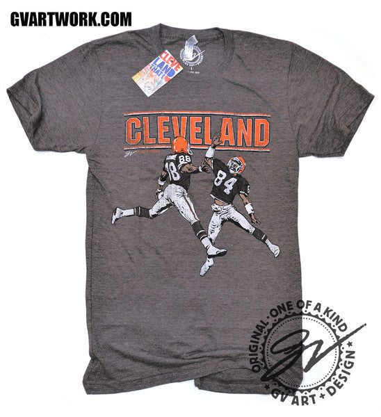 Cheap Langhorne Slaughter Cleveland Football Vintage T shirt | GV Art and  for cheap