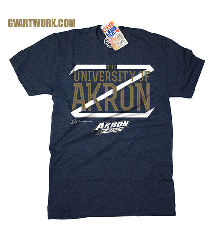 The University of Akron Big Z T shirt