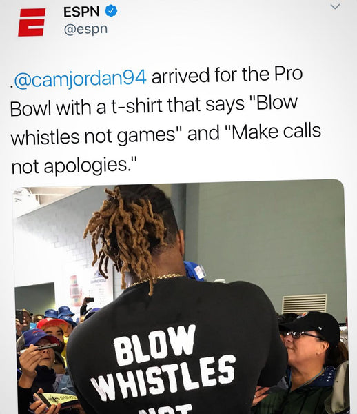 Blow Whistles Not Games T shirt