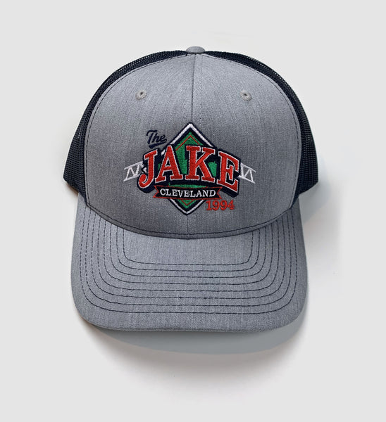 """The Jake"" Logo Mesh Hat - Navy"