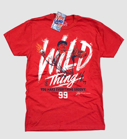 "James Karinchack ""Wild Thing"" T shirt"