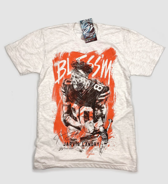 Jarvis Landry Bless'm Artwork T shirt