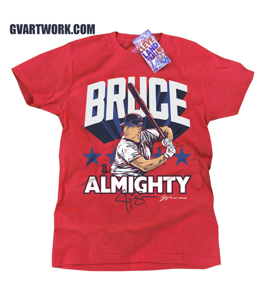 Official Jay Bruce Almighty T shirt