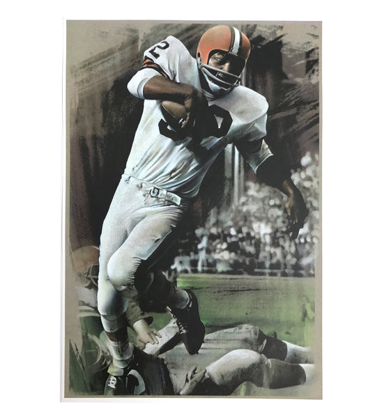 Jim Brown Original Artwork Fine Art Print