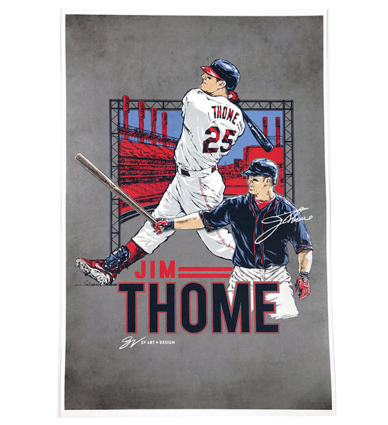 Jim Thome Fine Art Print