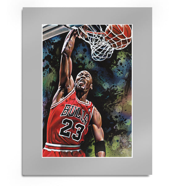 Michael Jordan Original Artwork