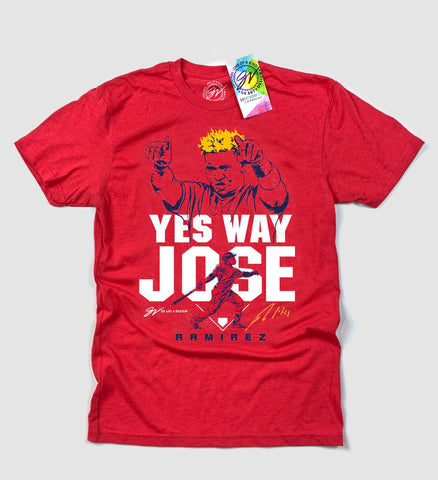 Jose Ramirez Yes Way Jose T shirt