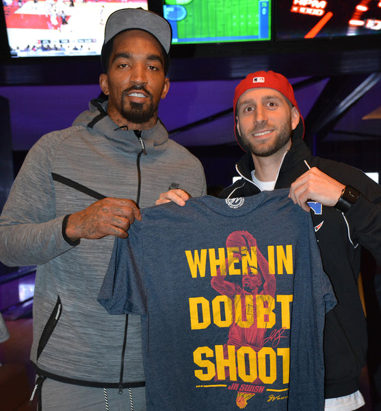 "JR Swish ""When in Doubt Shoot"" T shirt"