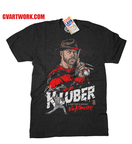 Corey KLUBER Nightmare on Carnegie and Ontario Shirt