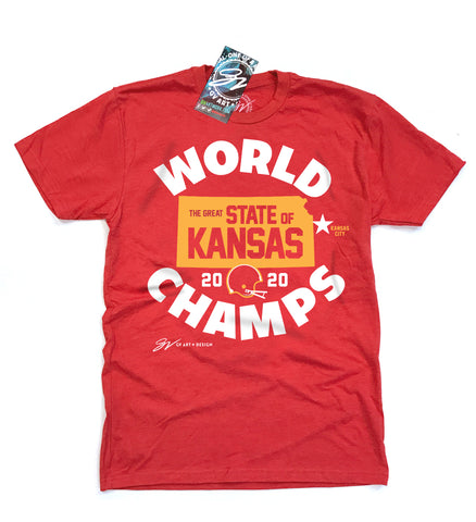 Kansas City, Kansas World Champs T shirt