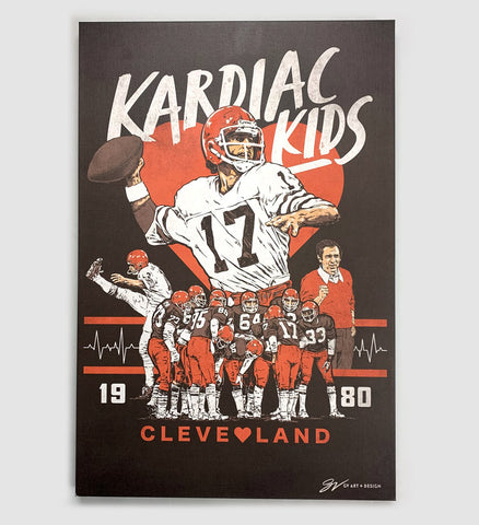 Cleveland Kardiac Kids Canvas Artwork