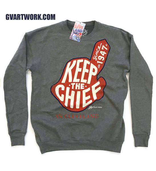 Keep The Chief Limited Edition Classic Crew Neck Sweatshirt