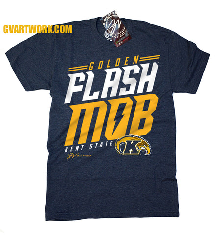 Kent State Golden Flash Mob T shirt