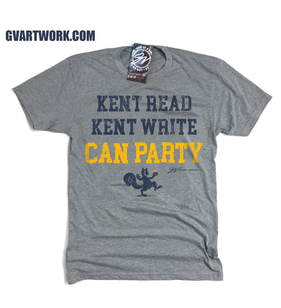 Kent Read Kent Write Can Party T shirt