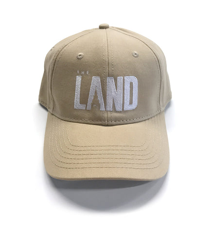 """The Land"" Cleveland Dad Hat Khaki"