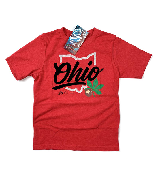Kids Script Ohio Shirt
