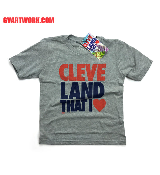Kids Original Cleveland That I Love shirt