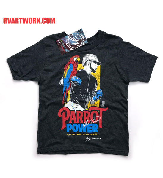 Kids Edwin Encarnacion Parrot Power T shirt