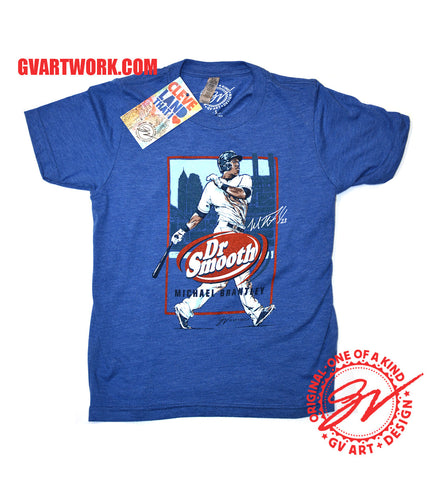 Kids Michael Brantley Dr. Smooth T shirt