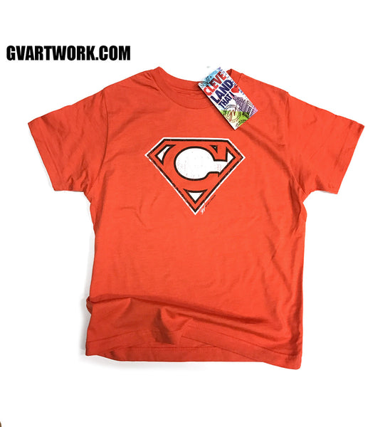 Kids Cleveland-Super C Orange and Brown