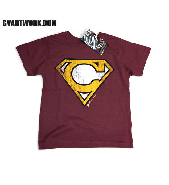 Kids Cleveland-Super C Wine and Gold