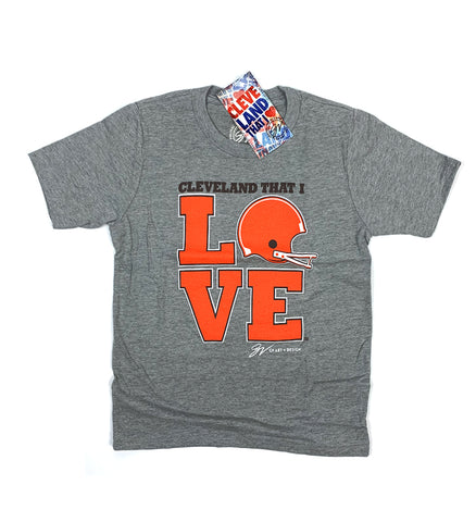 Kids Cleveland Cleveland That I LOVE Football T shirt