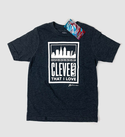 Block Cleveland That I Love Kids Shirt