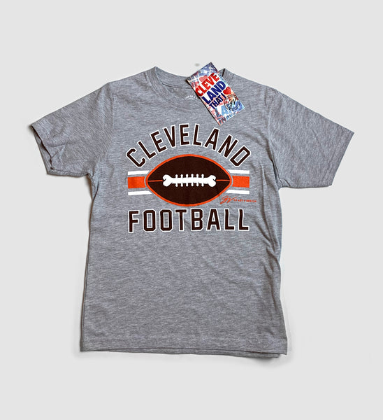 Kids Cleveland Football Stripes Shirt