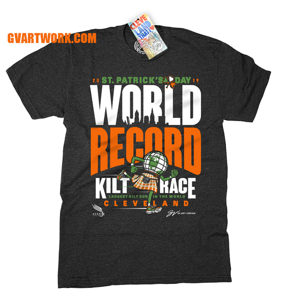 World Record Kilt Race Shirt