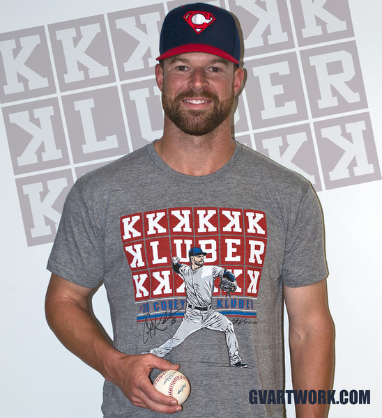 Official Corey Kluber T shirt