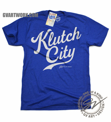 Klutch City Kansas City World Champions shirt
