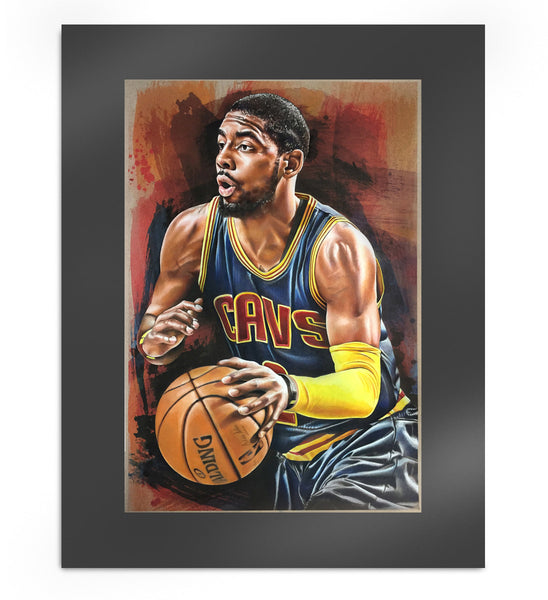 Kyrie Irving Limited Edition Matted Print