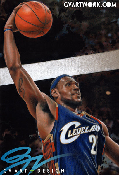 Lebron James Original Artwork