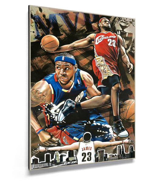 Lebron James MVP Artwork