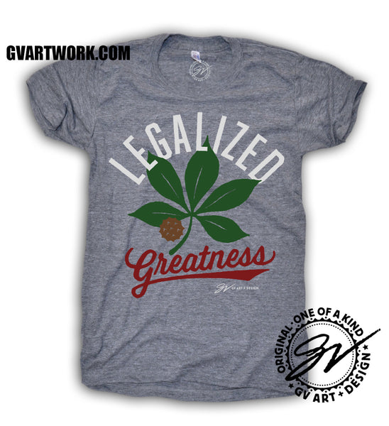 Womens Legalized Greatness - The Buckeye State T shirt