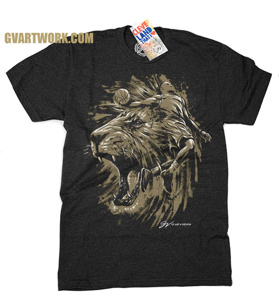 Limited Edition Gold Finals Heart of a Lion T shirt