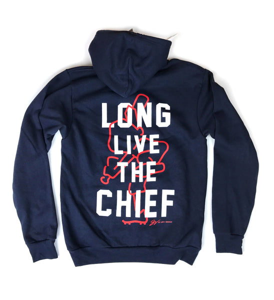 Long Live The Chief Pullover Hooded Sweatshirt