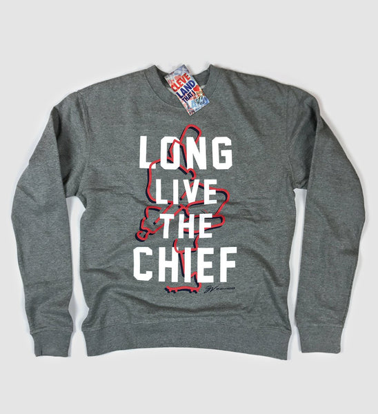 Long Live the Chief Classic Crew Neck Sweatshirt